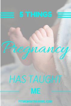 Pregnancy Lessons