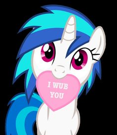 e621 2014 <3 alpha_channel english_text equine female feral friendship_is_magic fur hair holidays horn looking_at_viewer mammal mouth_hold my_little_pony plain_background purple_eyes solo stealth1546 text transparent_background two_tone_hair unicorn valentine's_day vector vinyl_scratch_(mlp) white_fur