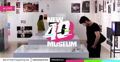 I'm watching live streams of new art & new ideas from the New Museum. Tune in at newmuseum.live #NewArtLive