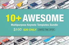 10+ Awesome Keynote Bundle by lunik20 on @creativemarket