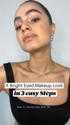 Makeup Eye Looks, Natural Makeup Looks, Cute Makeup, Pretty Makeup, Skin Makeup, Eyeshadow Makeup, Eyeliner, Ysl, Makeup Makeover