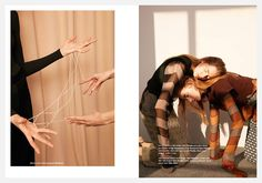 Lia & Odette Pavlova for BON S/S 2016 | The Fashionography