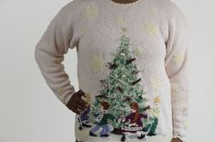 Check out this item in my Etsy shop https://www.etsy.com/listing/254078230/uglytacky-christmas-sweater-light-pink