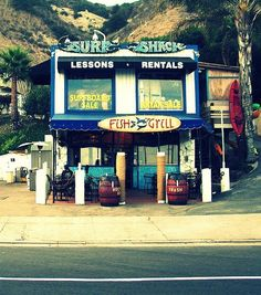 A Malibu Classic ... old school California ...