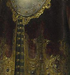 Bellona (details) Rembrandt.