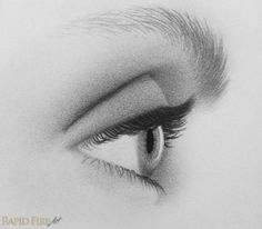 drawing eyes from the side step 10