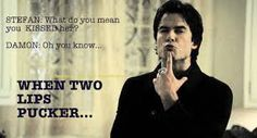 Funniest moment/scene on TVD? - question and answer in the The Vampire Diaries club Vampire Diaries Damon, Vampire Diaries Funny, Vampire Diaries The Originals, Stefan Salvatore, Niklaus Mikaelson Quotes, Ian Somerholder, Hello Brother, Vampier Diaries, Mystic Falls