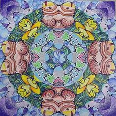 High School Art Mandala ... great site with images of how to!