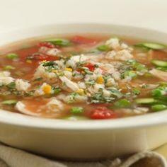 Spring Chicken & Barley Soup - EatingWell.com