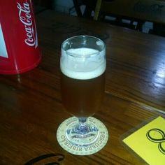 Cerveja Maracujá Beer, estilo Fruit Beer, produzida por  Cervejaria Caseira, Brasil. 5% ABV de álcool.