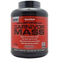 NEED:  Muscle Meds Carnivor Mass Chocolate Fudge 5