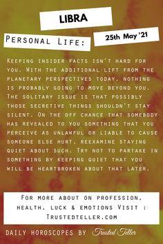 Libra Horoscope Today Libra Daily Horoscope, It Hurts, Life