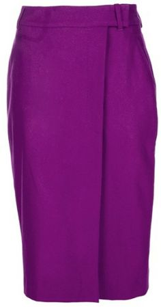 PAUL SMITH Purple Pencil Skirt