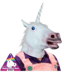 Unicorn Mask to wear at the park!
