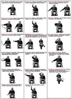 PoluxCriville-Via-American Motorcycle Safety Foundation-gestos-moteros-codigo-comunicacion-grupo-conduccion-segura-moto