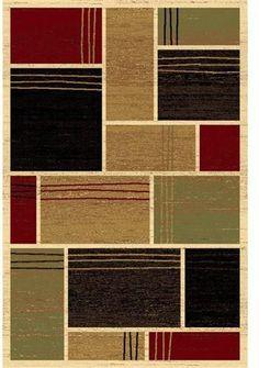 LA Rug 0127-30-2X4 Melange Collection Multi-Color