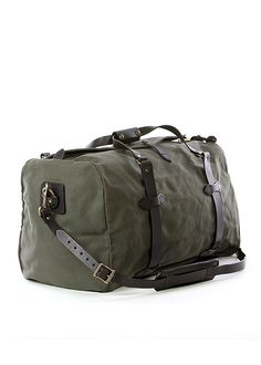 a0b08fddcd29 Filson Medium Duffle Bag in Otter Green