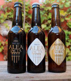 Alea Jacta #beer #packaging #cerveza #spanishdesign