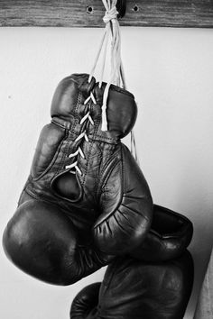 Boxing gloves -a new workout :))