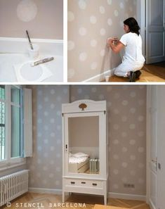 Transformar tu casa es fácil y económico si sabes cómo. Toma nota de esta idea para pintar paredes. #decoración #pintar #paredes