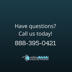 Have questions or suggestions? Need help with your screen protector? Feel free to call us! http://roboshields.com/