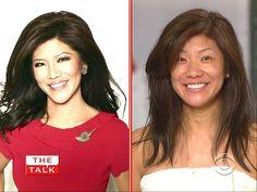 Julie Chen / After & Before Makeup!  (: