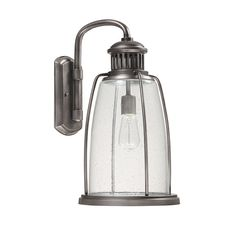 Seaport Outdoor Wall Lantern Large graphite