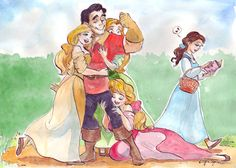 Brovincial life by taijavigilia on deviantart disney disney Disney Fan Art, Disney Pixar, Disney E Dreamworks, Disney Films, Disney Love, Disney Magic, Walt Disney, Disney Belle, Disney Couples