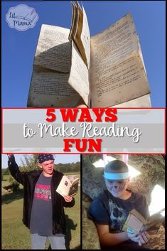 Want to to create lifelong readers and learners of your kids? Check out these 5 simple ways to make reading fun and teach them to enjoy reading!  These tips can be used for picture books or chapter books.