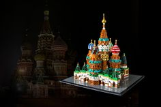 One would think I'd be a bit more creative with my choice of topic, having done two churches the past years. Yet here I am, posting just another one. Its a fun one this time though, promise :)  St. Basil's Cathedral was on my list ever since I got interested in LEGO Architecture, simply because of its lavish use of colour, its ornate facade and those amazing domes that top it off. Its such a fascinating building that has inspired people around the world for centuries. Now I finally de...