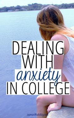 College seems like it's designed to give you more anxiety! Read for some great tips on dealing with it an easing it!