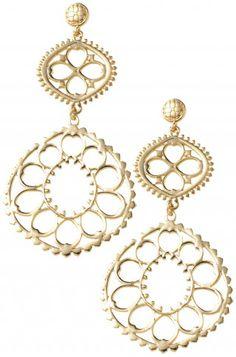 stella + dot 'valentina chandelier' earrings
