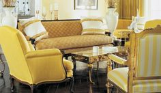yellow / bright and high contrast harringbone dark floors
