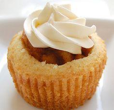 Apple Pie Cupcake :)