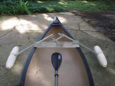 Alabama River Fishing :: View topic - Canoe stabilizer