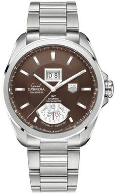 48ab5682c004 TAG Heuer Watch Grand Carrera GMT Grande Date Calibre 8 Watch available to  buy online from with free UK delivery.