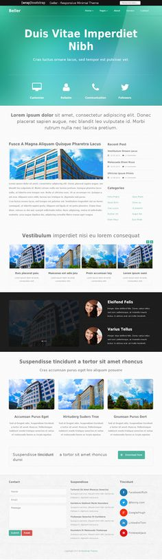 ONE - Responsive Business & Infographics Responsive Theme ...