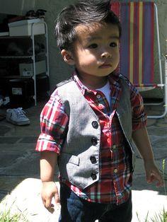 love the style, little man.