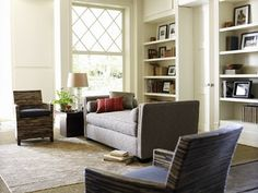 Always white .... is never wrong. - Eclectic - Living Room - dallas - by Lee Kleitsch