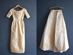 Hey, I found this really awesome Etsy listing at http://www.etsy.com/listing/168124639/60s-silk-wedding-dress-1960s-wedding
