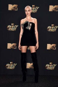 This is what everyone is wearing on the MTV Movie Awards red carpet - Vogue Australia