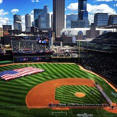 Target Field in Minneapolis Photo credit: Ben Brueshoff #OnlyinMN