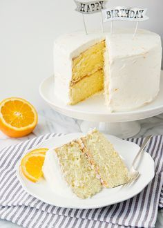 Orange Creamsicle Cake - Orange Cake: 2 1/2 c cake flour, 1 1/3 c Dixie Crystals sugar, 1 Tbsp baking powder, 1 tsp salt, 1/2 c vegetable oil, 5 large eggs separated, 3/4 cup orange juice, 1 Tbsp orange zest, 1/2 tsp cream of tartar - Orange Vanilla Whipped Mascarpone Frosting -  8 oz mascarpone room temperature, 2 c heavy whipping cream, 3/4 c powdered sugar, 1 Tbsp vanilla, 2 Tbsp orange zest...