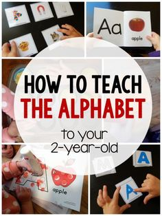 How to Teach Your Child to Read - How to teach the alphabet to your Give Your Child a Head Start, and.Pave the Way for a Bright, Successful Future. Toddler Learning Activities, Alphabet Activities, Infant Activities, Toddler Preschool, Preschool Activities, Motor Activities, 2 Year Old Activities, Toddler Alphabet, Preschool Curriculum Free