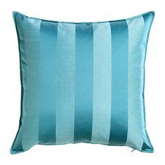 HENRIKA Cushion cover, turquoise