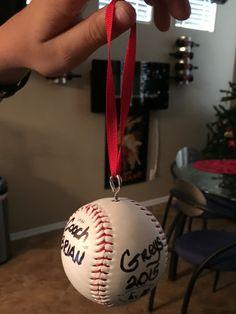 Baseball coach gift