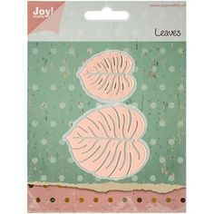 Joy! Crafts Cut and Emboss Dies, Larger Leaves