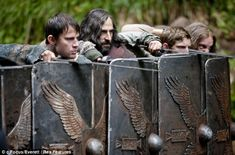 The Eagle - Channing Tatum (Marcus Flavius Aquila), Mark Strong (Guern), & Jamie Bell (Esca)