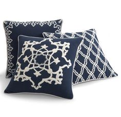 Dori Throw Pillows #grandinroad