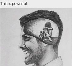 Funny pictures to draw thoughts ideas Meaningful Drawings, Emotional Art, Sketches, Deep Drawing, Drawings, Drawing Feelings, Alone Art, Deep Art, Drawing Skills